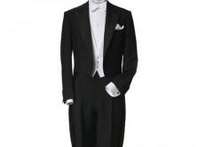 white tie-dinner suit